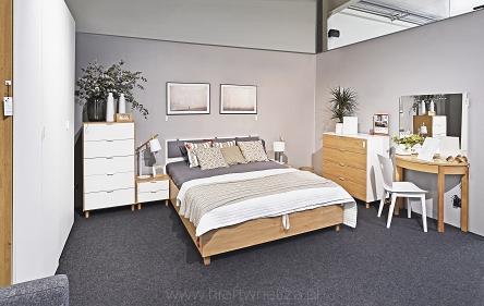 Simple Sypialnia Kraft Salon Wnętrz